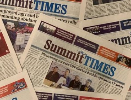 Hissey internship at the Summit Times